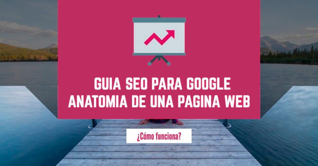 Anatomía de una página web, Guía SEO Google (2016)
